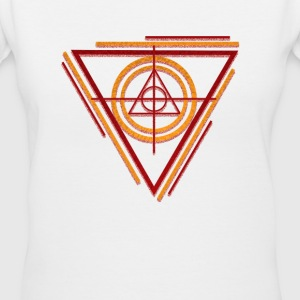 geometry-target Women's T-Shirts - Women's V-Neck T-Shirt