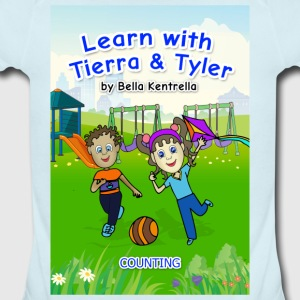 Bella Kentrella,children,LEARN WITH TIERRA & TYLER Baby Bodysuits - Short Sleeve Baby Bodysuit