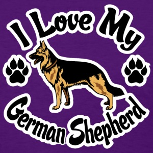 I Love My German Shepherd Women's T-Shirts - Women's T-Shirt