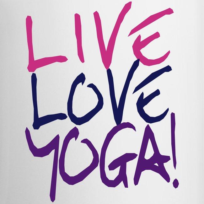 Live Love Yoga Mug