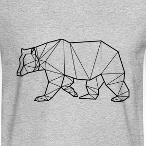 Bear Animal Prism - Men's Long Sleeve T-Shirt