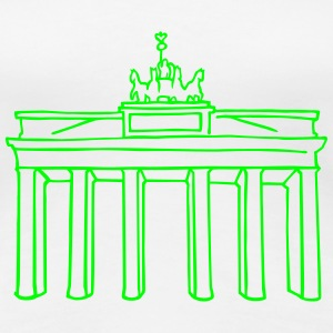 Brandenburg Gate in Berlin - Women's Premium T-Shirt