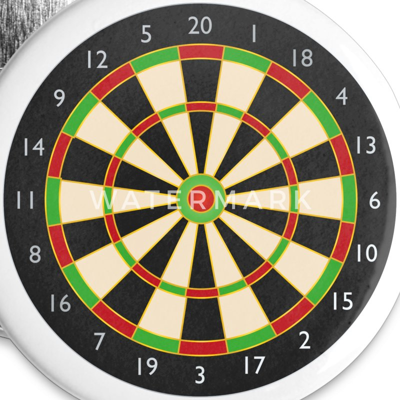 Dart board - Small Buttons