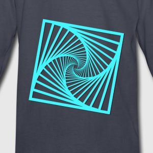 geometry-squares2 Kids' Shirts - Kids' Long Sleeve T-Shirt