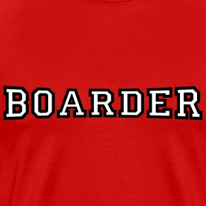 boarder T-Shirts - Men's Premium T-Shirt
