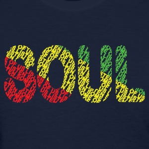 Soul Red Gold Green - Women's T-Shirt