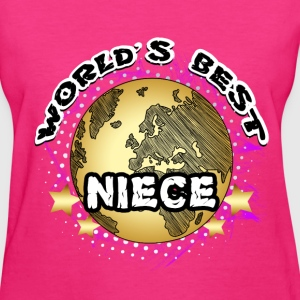 Niece - World's Best - Women's T-Shirt