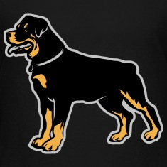 Dogs Rottweiler Breed Kids' Shirts