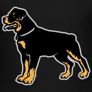 Dogs Rottweiler Breed Kids' Shirts - Kids' Premium T-Shirt