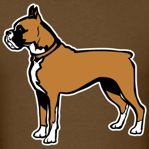 Dogs Boxer Breed T-Shirts - Men's T-Shirt