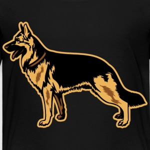 Dogs German Shepherd Baby & Toddler Shirts - Toddler Premium T-Shirt