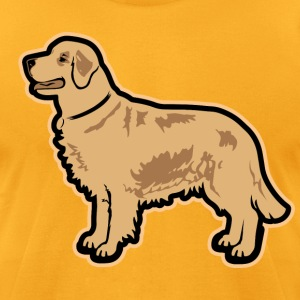 DOGS - Golden Retriever Breed T-Shirts - Men's T-Shirt by American Apparel