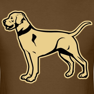 Yellow Labrador Retriever T-Shirts - Men's T-Shirt