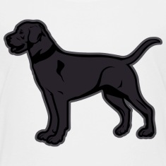 Dogs - Black Labrador Breed Or Black Lab Kids' Shirts