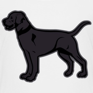 Dogs - Black Labrador Breed Or Black Lab Kids' Shirts - Kids' Premium T-Shirt