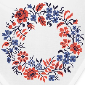 Weddings circle wild flowers - Bandana