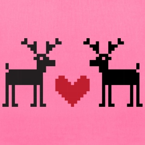 Christmas LOVE DEERS - Tote Bag