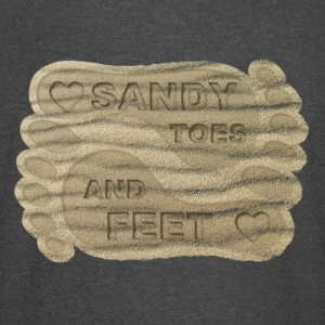 LOVE SANDY TOES AND FEET - Vintage Sport T-Shirt