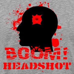 BOOM HEADSHOT 2 - Men's Premium T-Shirt