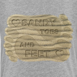 LOVE SANDY TOES AND FEET - Kids' Premium T-Shirt