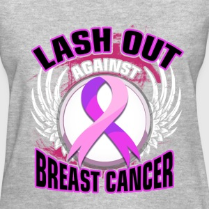 Support Cause - Lash out - Women's T-Shirt