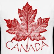 Design ~ Canada T-shirts Men's Canada SOuvenir Ringer Tee