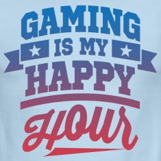 Gaming Is My Happy Hour T-Shirts