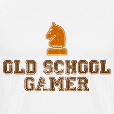 Old School Gamer T-Shirts