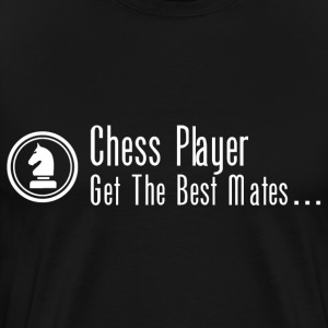 Chess Player T-Shirts - Men's Premium T-Shirt