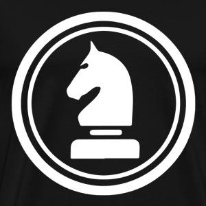 Horse Knight Chess Piece T-Shirts - Men's Premium T-Shirt