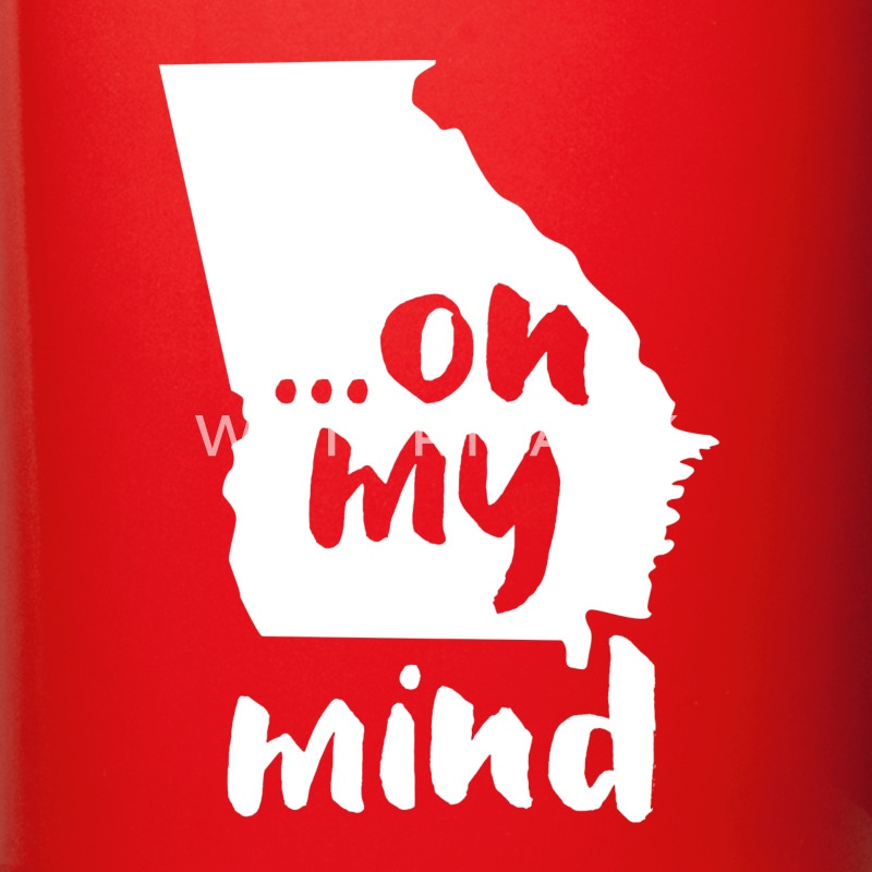 Georgia... on my mind State T-shirt Mugs & Drinkware - Full Color Mug