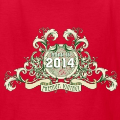042016_born_in_the_year_2014c Kids' Shirts