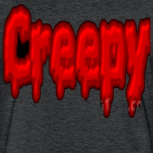 Creepy - Fitted Cotton/Poly T-Shirt by Next Level