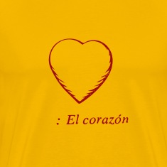 El Corazon, Men's Premium T-Shirt