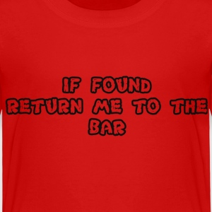 RETURNTOBAR Baby & Toddler Shirts - Toddler Premium T-Shirt