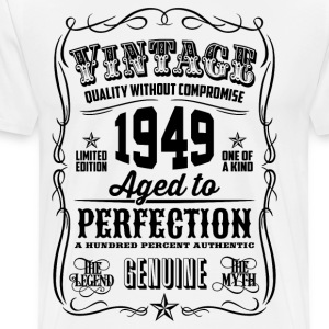 Vintage 1949 Aged to Perfection 67th Birthday gift - Men's Premium T-Shirt