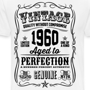 Vintage 1960 Aged to Perfection 56th Birthday gift - Men's Premium T-Shirt