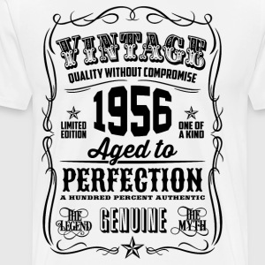 Vintage 1956 Aged to Perfection 60th Birthday - Men's Premium T-Shirt