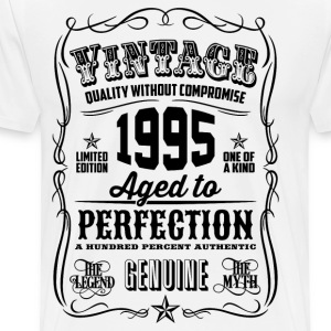 Vintage 1995 Aged to Perfection 21 Birthday gift - Men's Premium T-Shirt