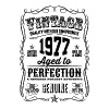 Vintage 1977 Aged to Perfection 39th Birthday  - Men's Premium T-Shirt