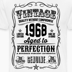Vintage 1968 Aged to Perfection 48th Birthday gif