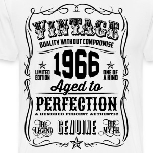 Vintage 1966 Aged to Perfection 50th Birthday gif - Men's Premium T-Shirt