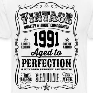 1991 Aged to Perfection - Men's Premium T-Shirt