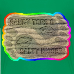 SANDY TOES AND SALTY KISSES  - Kids' Premium T-Shirt