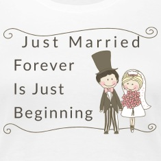 Just Married Forever Is Just Beginning