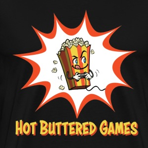 Hot Buttered Games - Men's Premium T-Shirt
