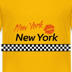 New York Red Kiss 3c Baby & Toddler Shirts