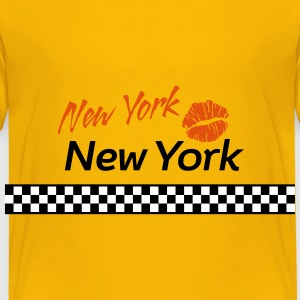 New York Red Kiss 3c Baby & Toddler Shirts - Toddler Premium T-Shirt