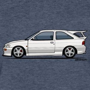 Ford Escort Mark V RS Cosworth T-Shirts - Fitted Cotton/Poly T-Shirt by Next Level