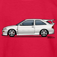 Ford Escort Mark V RS Cosworth Kids' Shirts